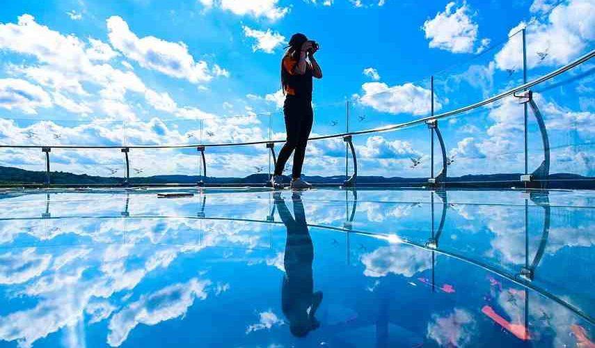 Skyglass em Canela